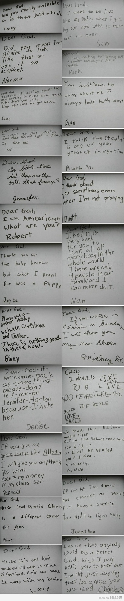 funny things kids write LDS mormon (6)