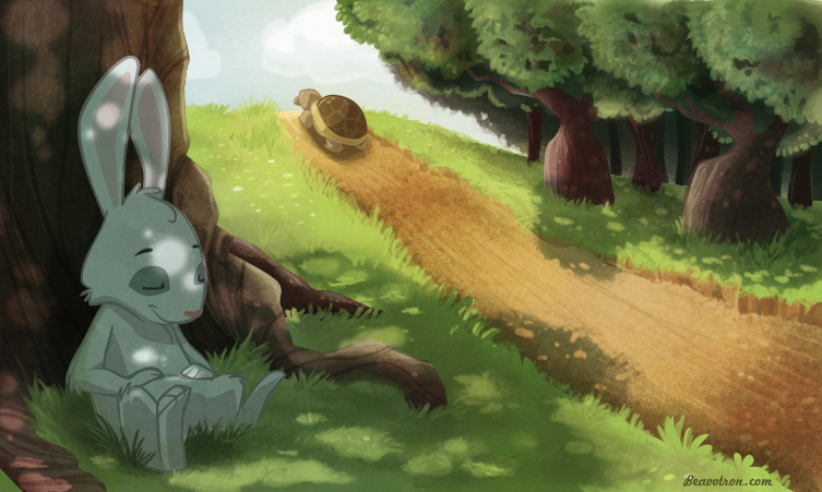 The forgotten lesson of the tortoise and the hare