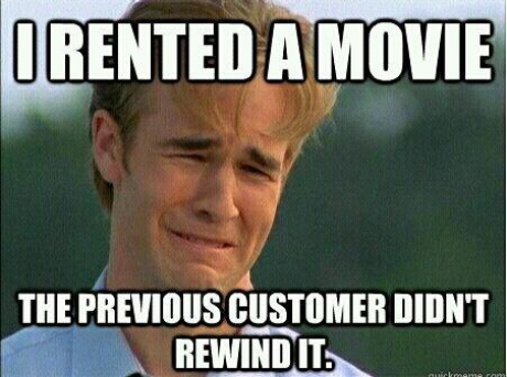 VHS Problems 22 ways you know you were born in the 80s 90s