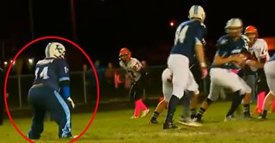 Such a Great Story of a Waterboy with Down Syndrome