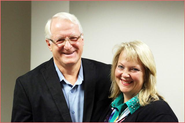 Tony and Barbara