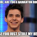 "9 David Archuleta ""Hey Girl"" Memes.  Why? Because We Can"