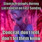 Mormon Memes from the Movie Frozen