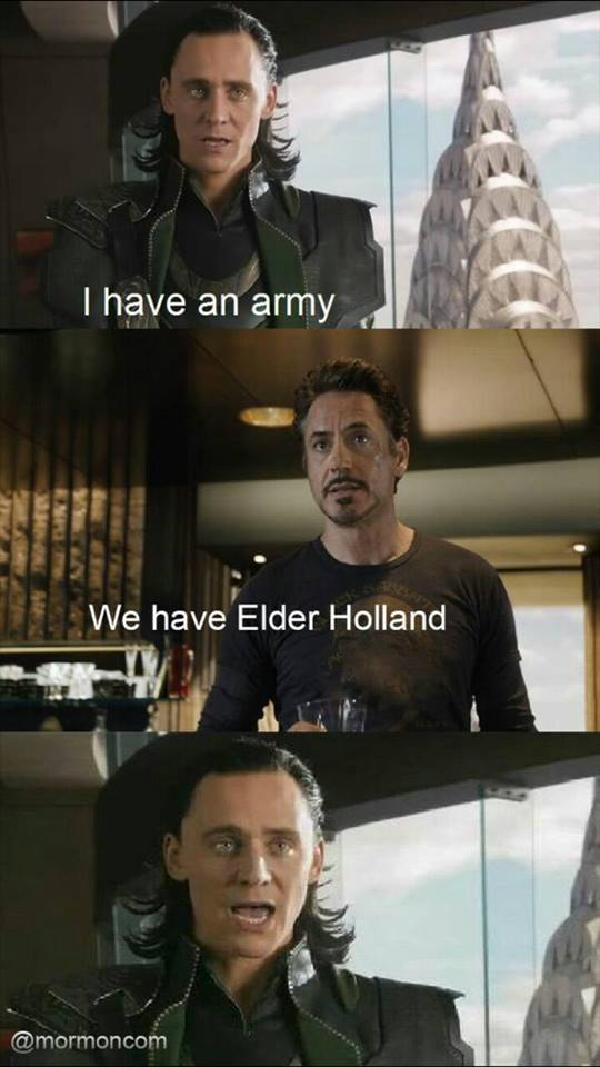 Mormon Memes from the Avengers