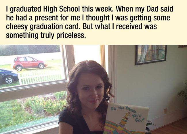 Amazing Father's Gift for Graduation to His Daughter