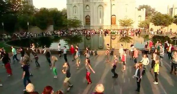 LDS Youth Flash Mob