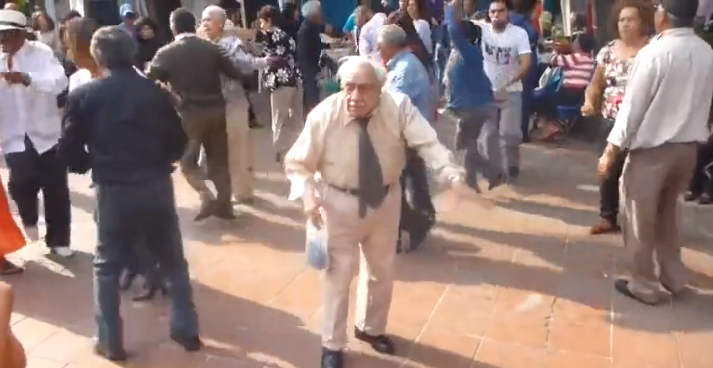Old Man Dancing – Amazing