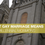 What Gay Marriage Means for Millennial Mormons