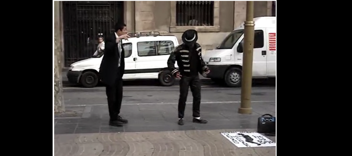 Mormon Missionary Holding His Own Break Dancing