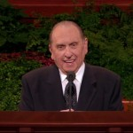 Children See Angels Bear President Monson Up During General Conference