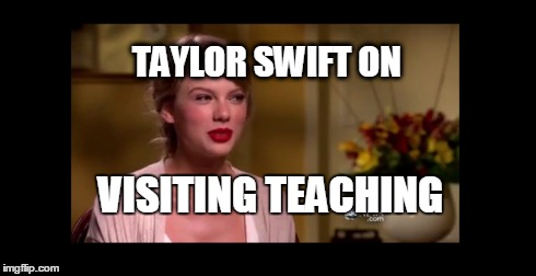 Taylor Swift Talks About Visiting Teaching