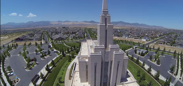 LDS Temples Like You Have Never Seen Them Before