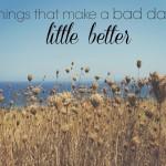 Make a Bad Day Good