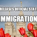 Immigration: Church Issues Statement