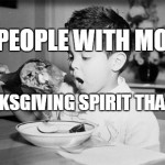 12 People With More Thanksgiving Spirit than You