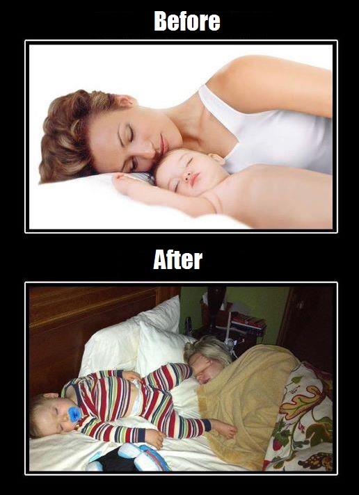 Life Before Having Kids vs After