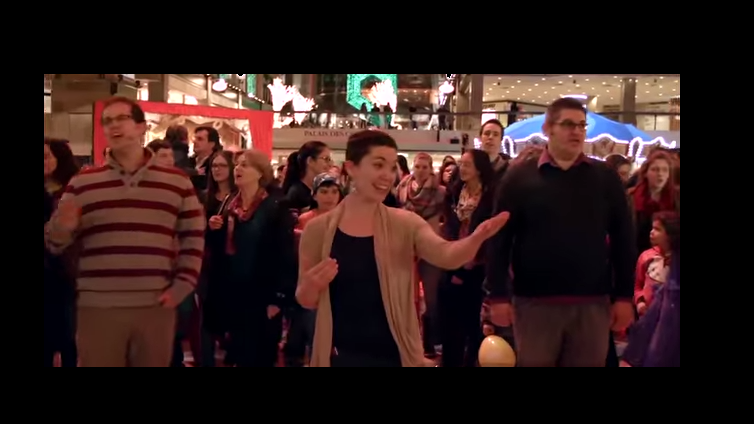 Mormon Flash Mob and Their Christmas Message