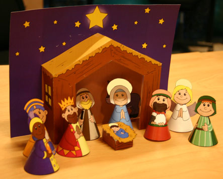 Nativity Scenes For Kids