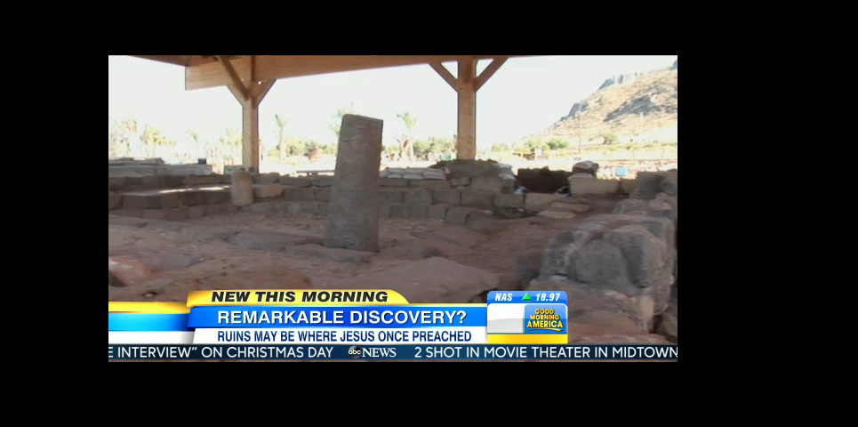 Archaeologists Believe They Found Location Where Jesus Christ Taught