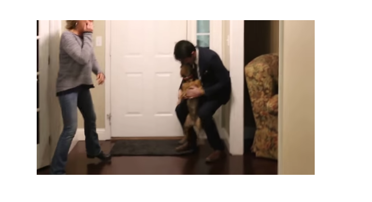 Dog Goes Nuts Seeing Returned Missionary After Two Years