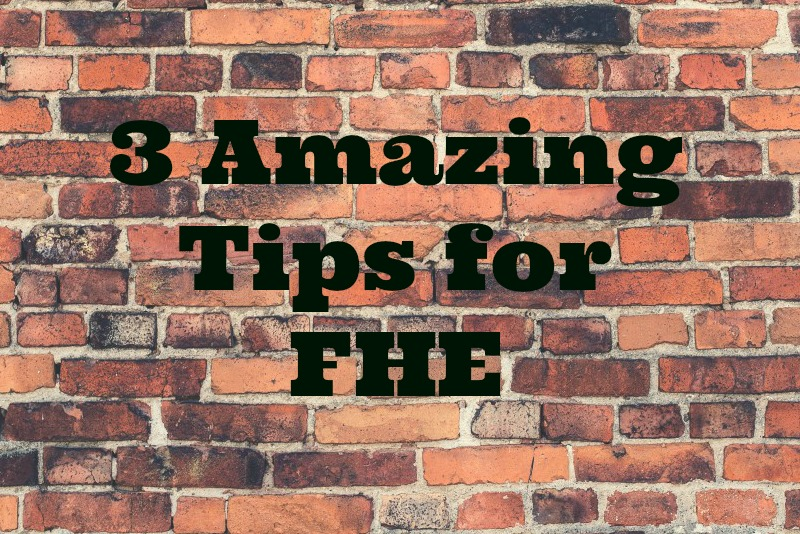 FHE is Turning 100 Years Old – Three Amazing Tips to Get Your Family Home Evening Jump Started Again