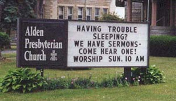 Hilarious Church Signs That Are Just Too Funny Not To
