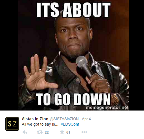 Funny Meme Pages On Twitter : The funniest tweets and memes from lds general conference