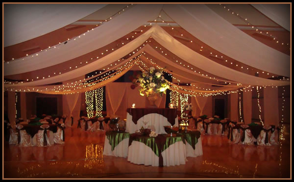 Super Elegant Cultural Hall Wedding Decorations