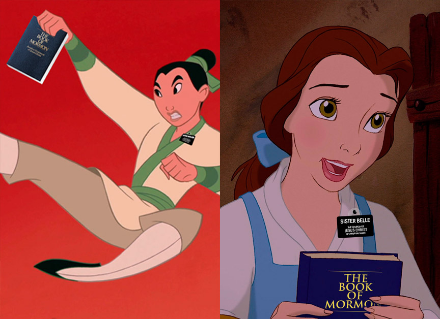 If Disney Princesses Were Sister Missionaries – Presented by Holy Tabbs.com