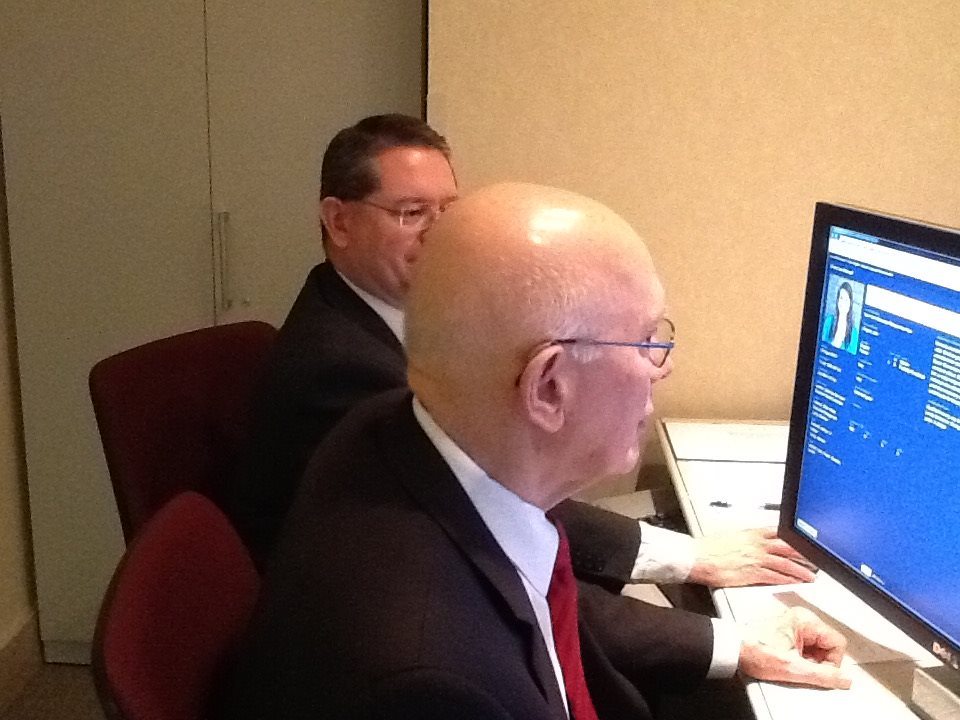 See Photos of Elder Oaks Assigning Missionaries to Their Missions