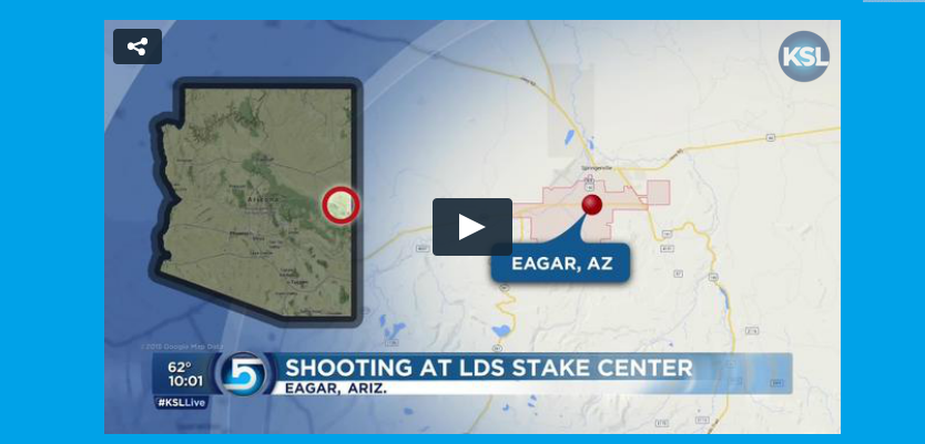 Shooter dead, pregnant woman injured after shoot-out began at LDS stake center