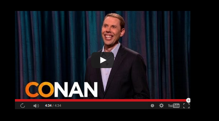 Ryan Hamilton, LDS Comedian Kills it on Conan