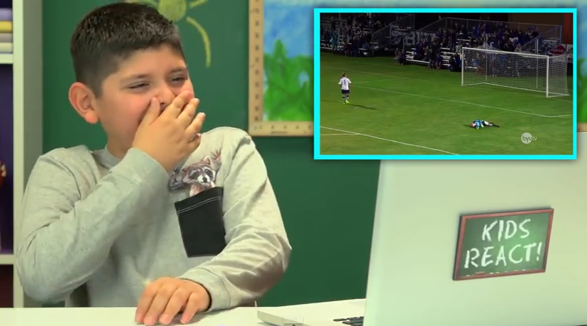 "Famous ""Kids React"" Youtube Channel Reacts to Studio C's Hilarious Top Soccer Shootout With Scott Sterling"