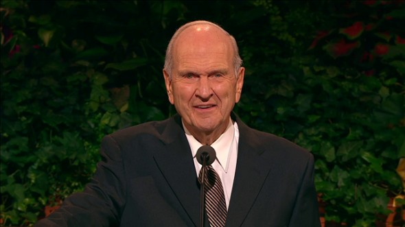 Elder Nelson Set Apart As President of the Quorum of the Twelve Apostles