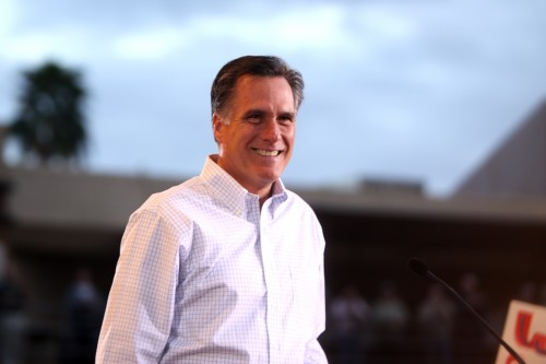 Trump 'leaning toward' naming Romney secretary of state, newspaper says
