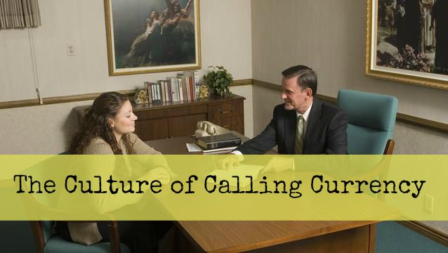 The Culture of Calling Currency