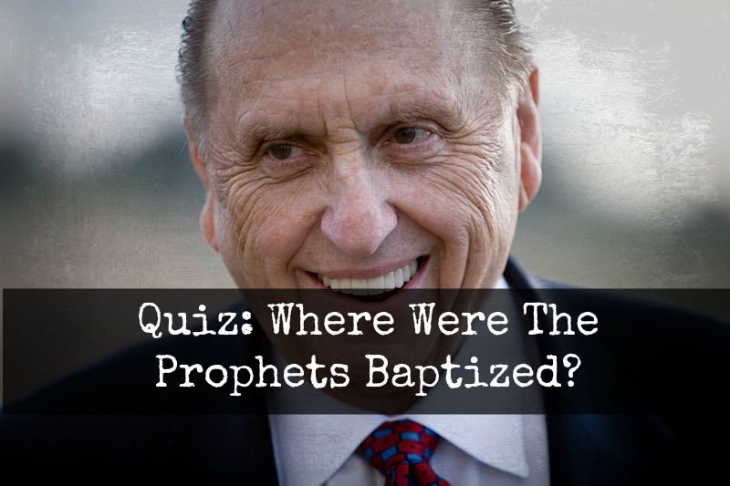 60% of Mormons Fail This Quiz. How Well Do You Know The Prophets?