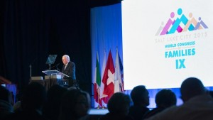 Elder Ballard Addresses Importance of Traditional Marriage at World Congress of Families
