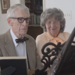"""UP"" in Real Life: 80-Year-Old LDS Couple Plays Adorable Anniversary Piano Duet"