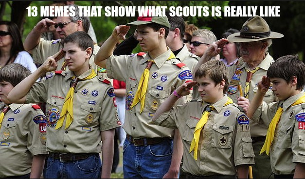 12 Funny Memes That Show What Scouts Is Really Like
