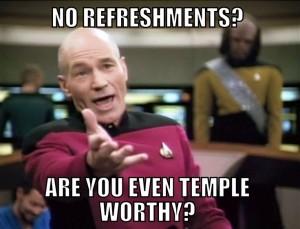 Refreshments meme