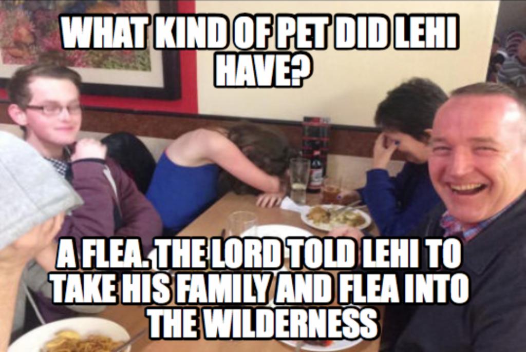 Lehi Dad Joke Meme