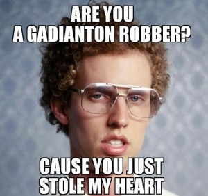 gadianton robber mormon pick up line