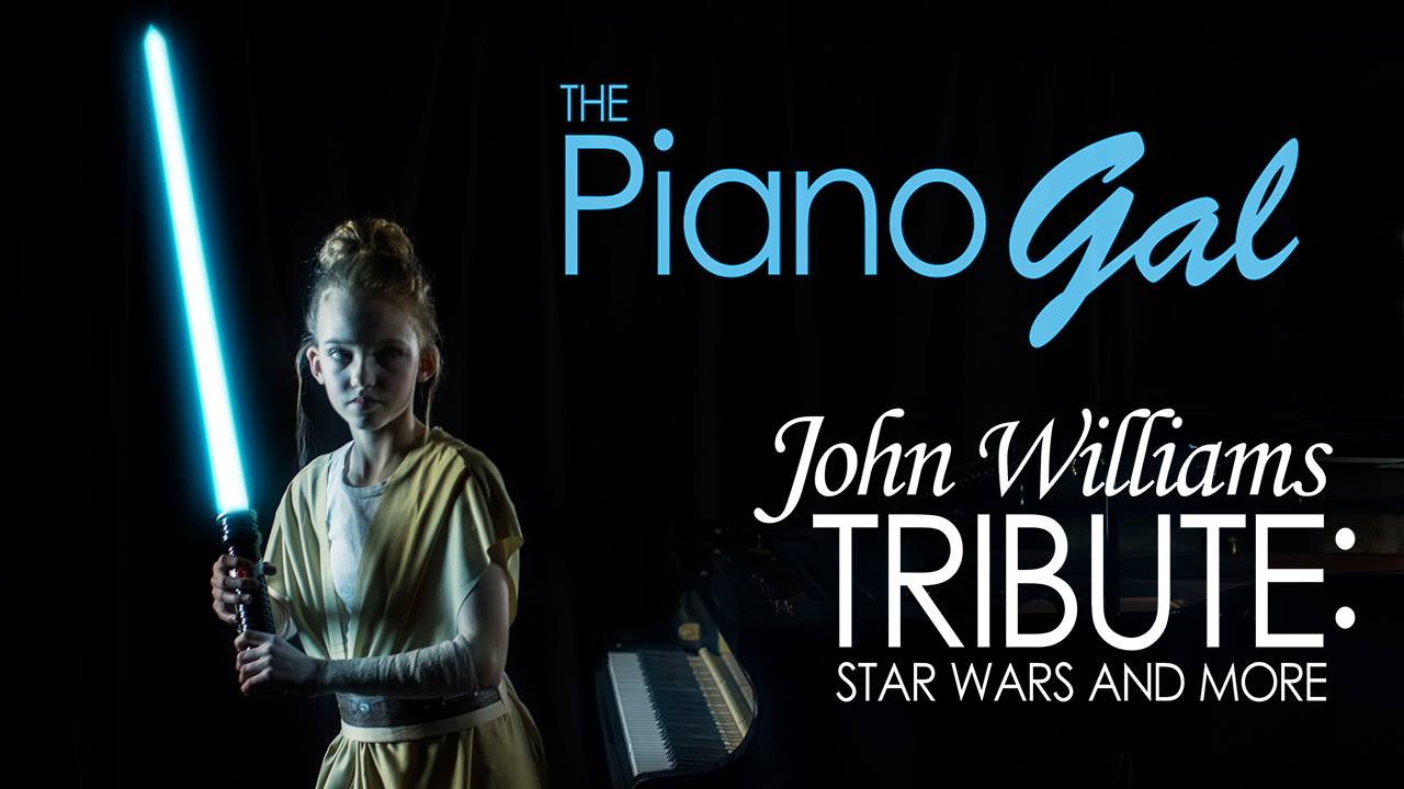 13 Old LDS Phenom (The Piano Gal) Does An Incredible John Williams Tribute!