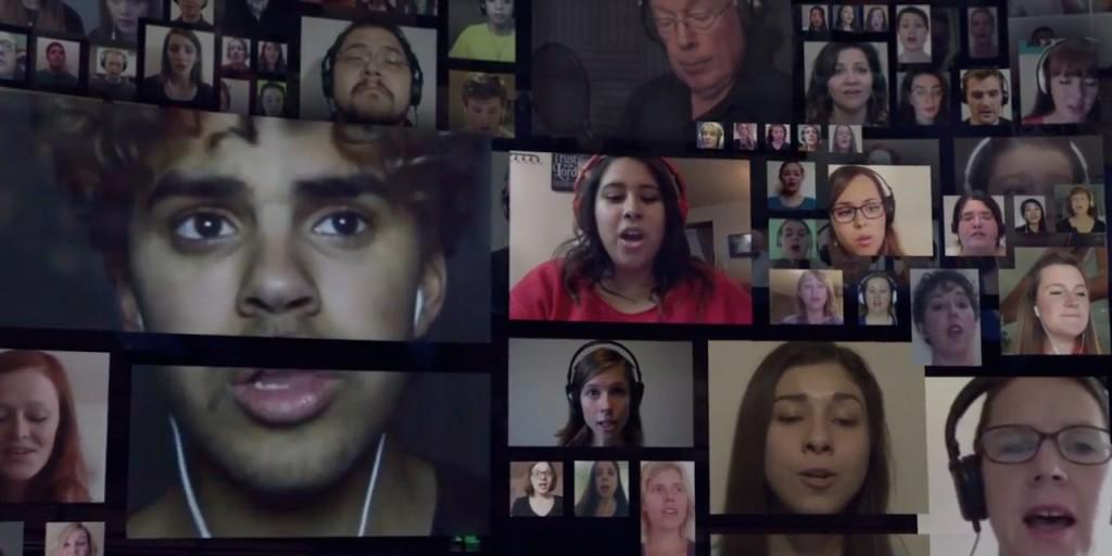 "Mormon Tabernacle Choir Virtual ""Hallelujah"" Chorus"
