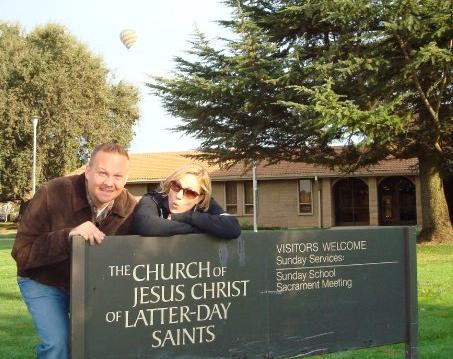 """So You Rode A Hot Air Balloon To Church?"""