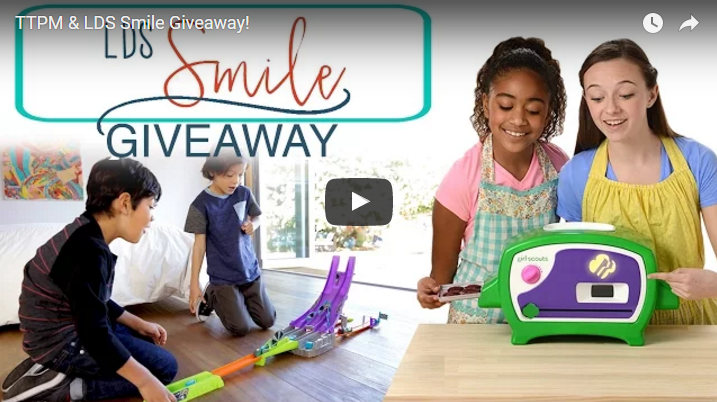 LDS S.M.I.L.E Teaming Up With TTPM For a Tremendous Giveaway!