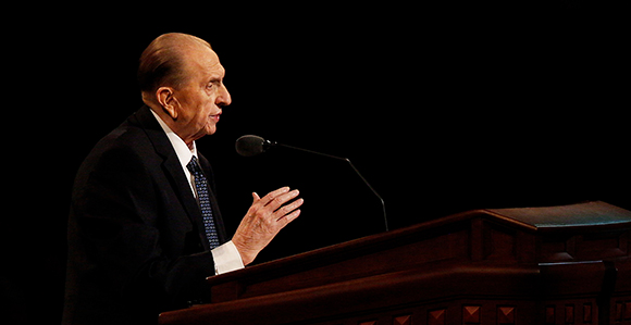 Five Minutes with Thomas S. Monson