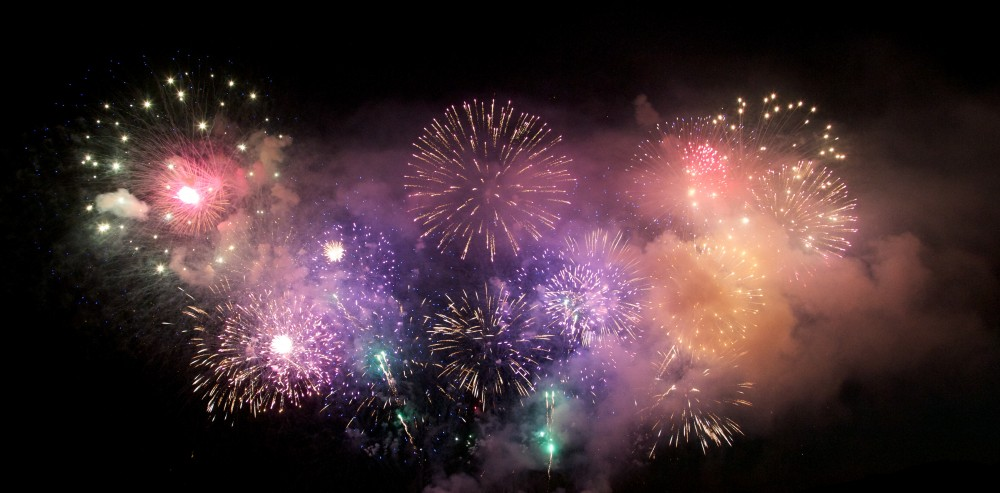 A list of all the firework events in Utah