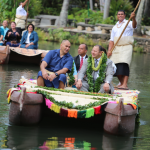 Royal Family Honors New Tonga Village At Polynesian Cultural Center